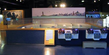 Aquarium Finisterrae - Maremagnum - Sala de exposiciones interactivas