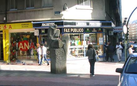 calle barcelona A Coruña